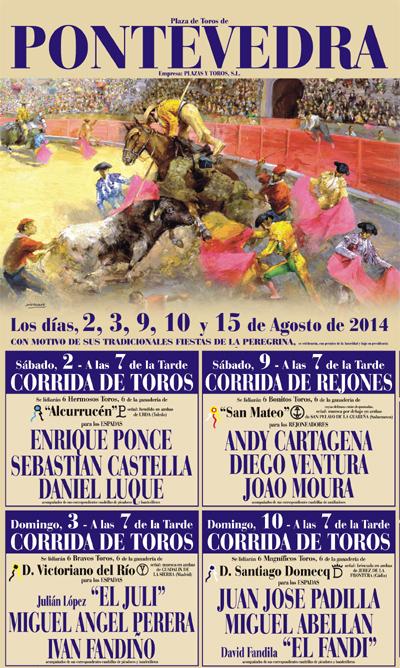Entradas Toros Pontevedra Fiestas De La Peregrina